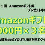 コラム「三和建設工業株式会社 第1回Amazonギフト券プレゼントキャンペーン 応募規約」のサムネイル画像